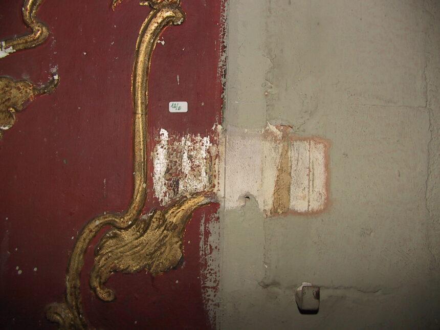 Tasselli del palco n° 6 di primo ordine a sinistra