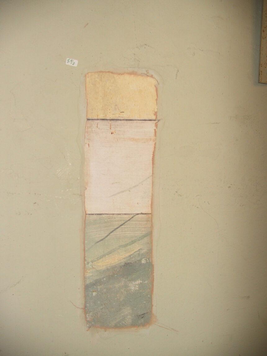 Tasselli del palco n°8 di secondo ordine a destra